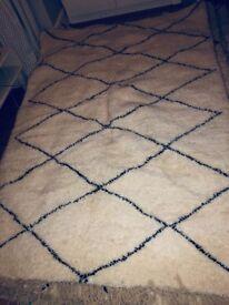 Beautiful Beni Ourain rug for sale