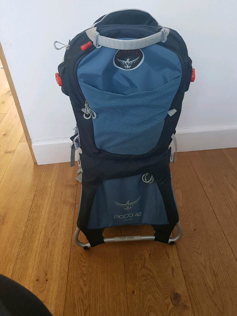 Osprey Poco Ag Plus Child Carrier In Bedminster Down