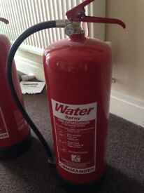 Fire Extinguishers 9litre water type