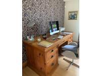Reclaimed New Zealand Solid Hardwood Desk