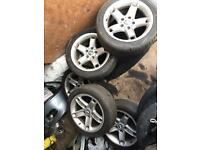 Bmw E39 17 inch wheels set of 5 ( must gone by Tuesday)