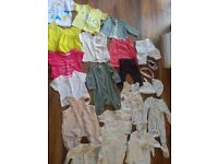 0-3 month baby girl clothes, 23 item