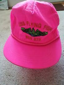 "U.S Navy Submarine ""Flying Fish"" Baseball Hat"