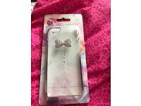 iPhone 6 diamanté clear case