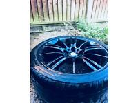 Bmw alloys 3 4 5 series. £300