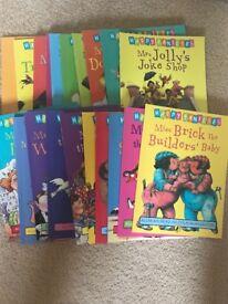 20 Happy Family books