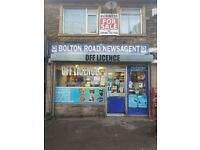 Off licence business for sale / newsagents for sale Bradford