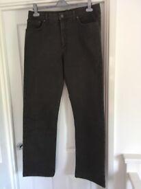 Men's Blue Harbour Jeans Size 36 / 33 Colour Chocolate
