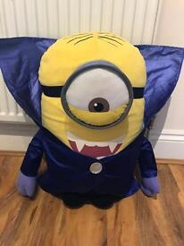 Minion vampire stuffed toy 2 feet
