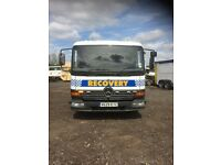 Mercedes atego recovery truck