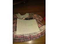 Girls dresses 0-6 and 3-6 months