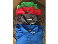 Callaway Golf Tops in immaculate condition