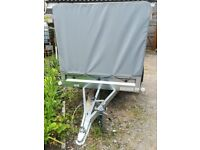 Car Trailer with cover 750 kg - Used once