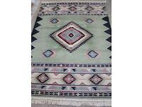 Vintage TAPISIFT rug, Named FARAH, 165cm x 230cm, Colour is VERT, Made in France