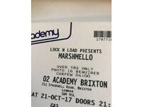 4 x Tickets to Marshmello O2 Brixton tonight 9pm