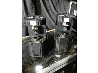 8x Martin 812 scanners (disco lights)