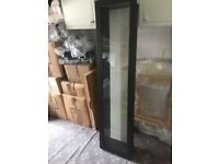 IKEA GLASS FRONTED DISPLAY CABINETS