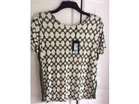 M&S ladies size 14 T shirt