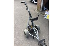 Great Power Caddy Trolley Needs New Battery Not used for 3 years cost £299 New