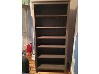 Grey Ikea Hemnes Bookcase