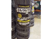 Wire fencing - 100m roll.