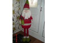 Santa large free standing decoration