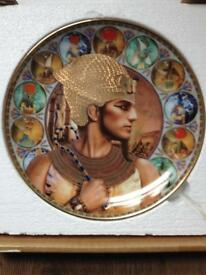 Rameses II The Great Warrior Decorative Plate