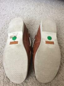 Boys Timberland Deck Shoes Size 2