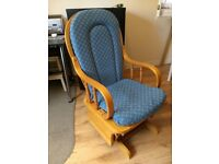 Mothercare glider nursing rocking chair