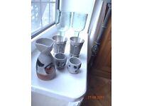 Sake Set, Asian Glasses and Goblets