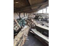 Oak ash elm burr elm planked timber