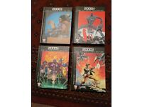 2000AD The Ultimate Collection books x4