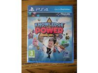 Ps4 game, Knowledge is Power, unopened
