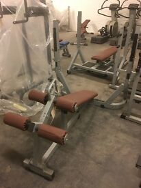 TECHNOGYM PURE STRENGTH OLYMPIC DECLINE BENCH FORSALE!!