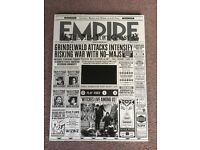 Limited Edition Empire Video Magazine Fantastic Beasts And Where To Find Them Harry Potter
