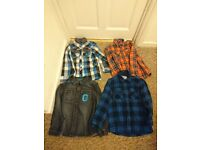 Boys shirts bundle hardly worn age 6/7 yrs 7.00