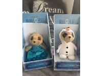 Meerkat limited edition Ayana(Elsa) and Oleg(Olaf)