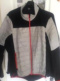 Men's cycling jacket jersey top fleece XL biking
