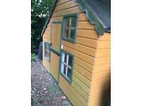 Double story Wendy house