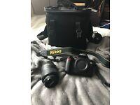 Nikon D60 DSLR with accessories
