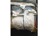 2 adidas jackets / hoodies both size medium £25