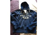 Men's Abercrombie & Fitch Hoodie and Polo Top, very good condition