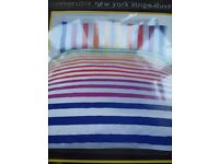 Double quilt cover set new with tags