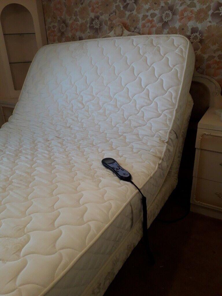 Tremendous Adjustamatic 46 X 66 Double Massage Bed Mattress 2 Years Inzonedesignstudio Interior Chair Design Inzonedesignstudiocom