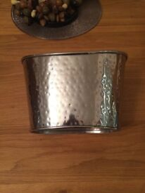 John Lewis Hammered Double Champagne Bucket