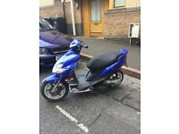 2005 YAMAHA JOG RR 50cc SPARES OR REPAIRS ONLY FOR £180