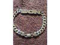Son bracelet silver