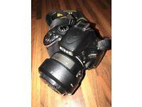 Nikon D5100 and 2 lenses