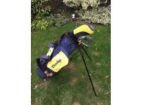 Dunlop Children's kid's Child Loco golf clubs and bag set.