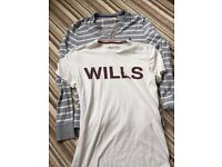 Jack wills bundle - Mens Small long sleeved top and t shirt